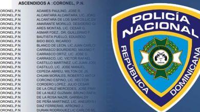 Photo of Aquí la lista completa de ascensos en la Policía Nacional de este marzo de 2019