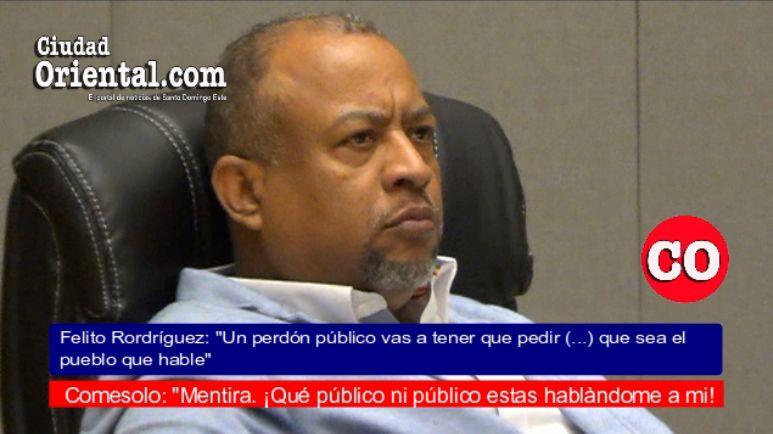 """El regidor """"Comesolo"""" descarta pedir disculpas por ningunear a Peña Gómez + Vídeo"""