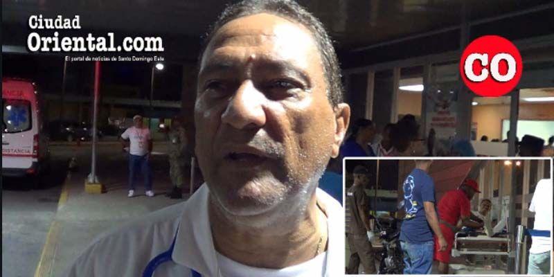 Abundaron la noche del sábado Santo los accidentados y heridos por riñas en el Hospital Dr. Darío Contreras + Vídeo