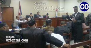 Los debates son en el Segundo Tribunal Colegiado de la provincia Santo Domingo.
