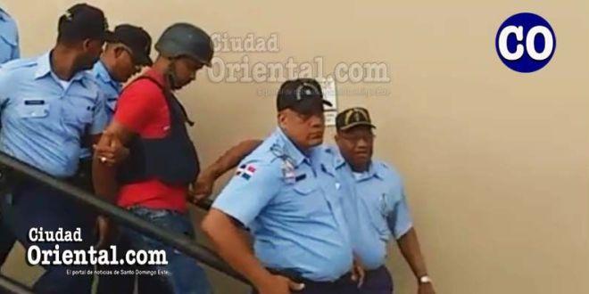 Gabriel Alexander Pérez alias Hueso/Johan, traslado en custodia.