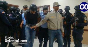 Los imputados fueron trasladados bajo extritas medidas de seguridad.