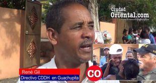 René Gil, activista de los Derechos Humanos en Guachupita