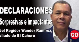 Wander Ramírez, regidor PLD en el ASDE