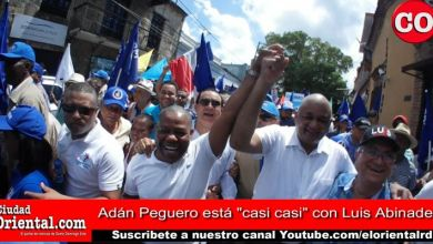 """Photo of Esta foto lo dice todo… y el vídeo revela más: Adán Peguero está """"casi casi"""" con Luis Abinader"""