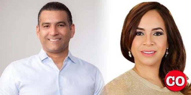 Luis Alberto Tejeda y Karen Ricardo