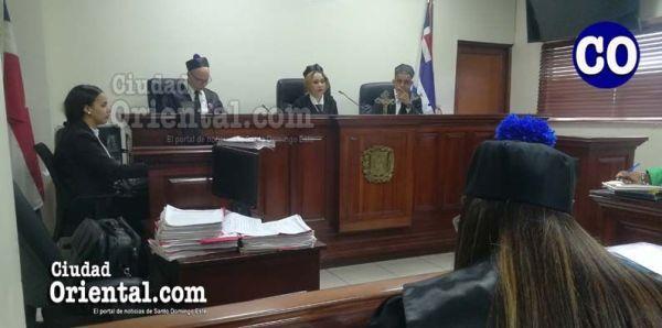 Primer Tribunal Colegiado de la provincia Santo Domingo.