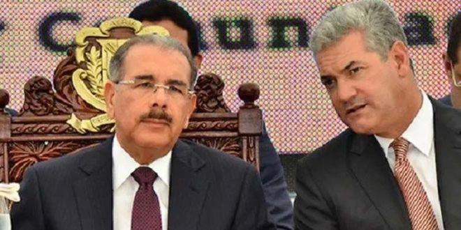 Danilo Medina y Gonzalo Castillo