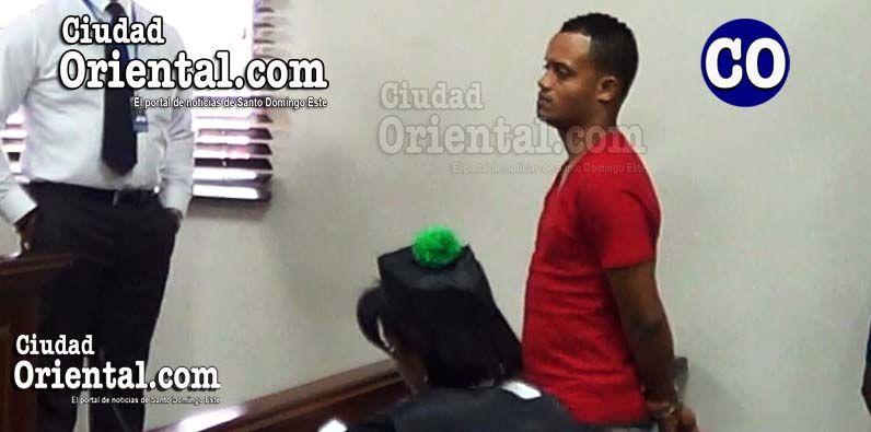 David Suero y/o Luis David Reyes Suero, al escuchar la sentencia.