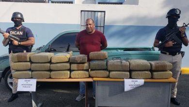 Photo of PN en SDE arresta presunto narco; dice le ocupan 205 libras de marihuana