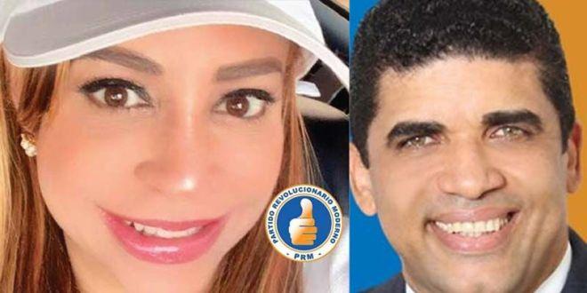 Katy Báez y Dío Astacio