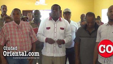 Dirigentes comunitarios de Los Frailes II y San Bartolo