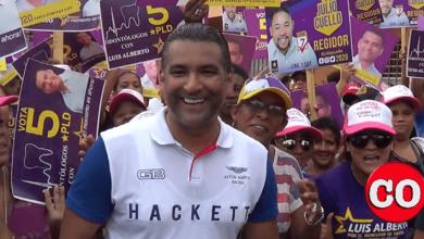 """Luis Alberto Tejeda, durante un """"manoa mano"""" en Los Mameyes"""