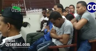 Los presos imputados, en el banquillo de los acusados.