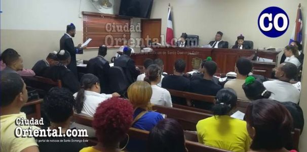 fiscal Aurelio Valdez, cuando presentaba la acusación.