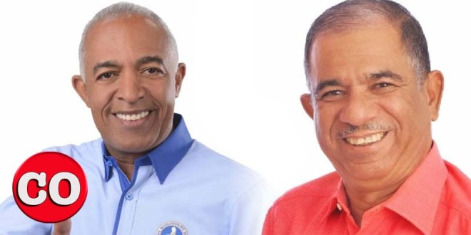 Bertico Santana y Jorge Frias