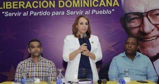 Desde la izquierda, Luis Alberto Tejeda, Keren Ricardo y Victor Minaya