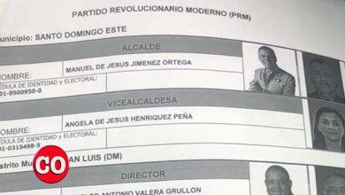 Photo of ¡Oh! ¡Oh! La candidata a la Vice Alcaldía de Alianza País fue inscrita en la JE como si fuera militante del PRM