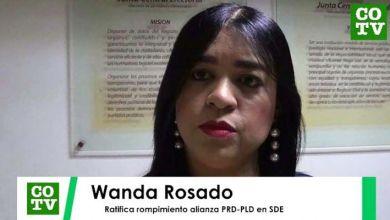 Photo of Wanda Rosado ratifica rompimiento alianza PRD-PLD en nivel municipal SDE