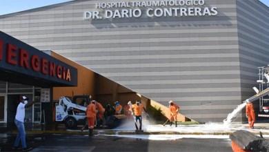 Photo of Higienizan  emergencia del Hospital Doctor Darío Contreras y otros espacios públicos