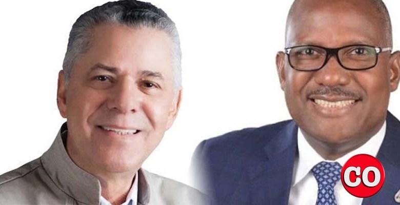 Manuel Jiménez (i) y Alfredo Martínez