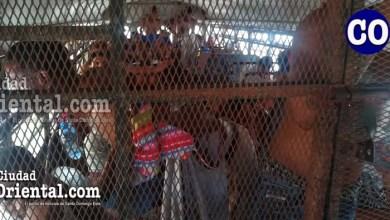 Los detenidos están sin la mínima protección y distanciamiento requerido por las autoridades sanitarias.