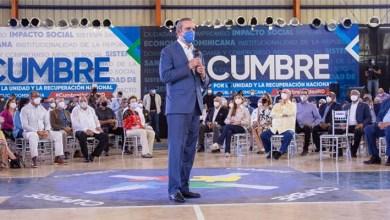 Photo of Luis Abinader propone convertir Cumbre por la Unidad y Recuperación en espacio permanente de consulta