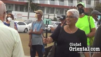 Photo of Altagracia Salazar eleva la apuesta: va sin mascarilla a la manifestación en la Plaza de la Bandera + Vídeo