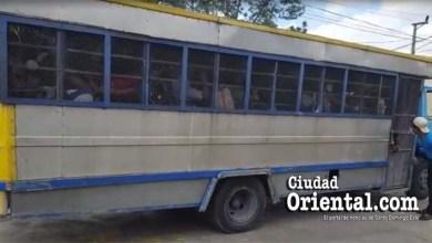 Camión cárcel de la Fiscalía de SDE.