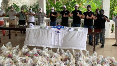 Photo of Movimiento Sub 25 entrega alimentos e insumos de protección médica en Santo Domingo, Boca Chica y varias provincias