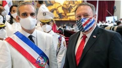 Photo of Las andanzas de Pompeo en el traspaso de mando en República Dominicana