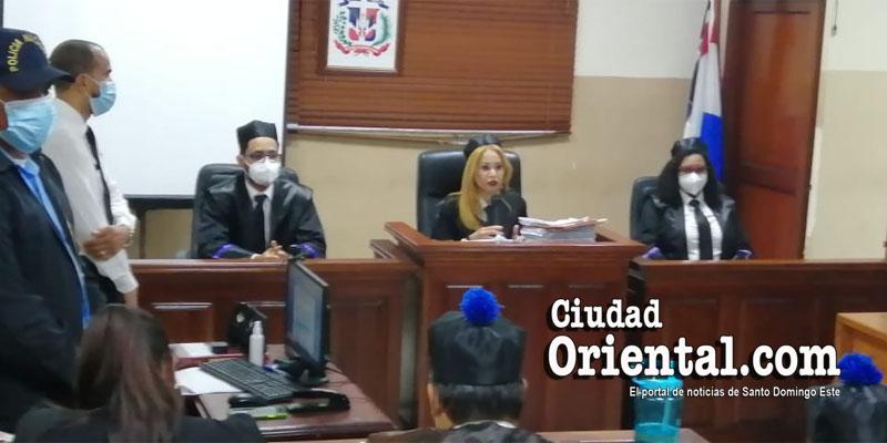Segundo Tribunal Colegiado de la provincia Santo Domingo.