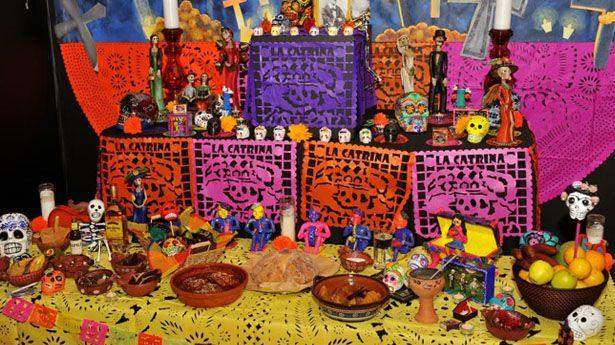 Altar en Tijuana, México. Foto: www.uniradio.com