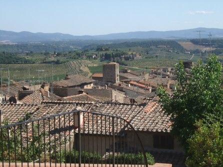 Típica imagen de Toscana, Italia