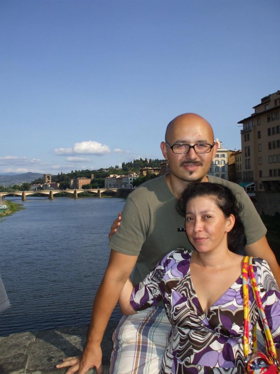 Margarita y su esposo