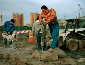 Luis Hernandez, es The Thing. Originario de Veracruz. Trabaja como demoledor en NY. Foto: Dulce Pinzón