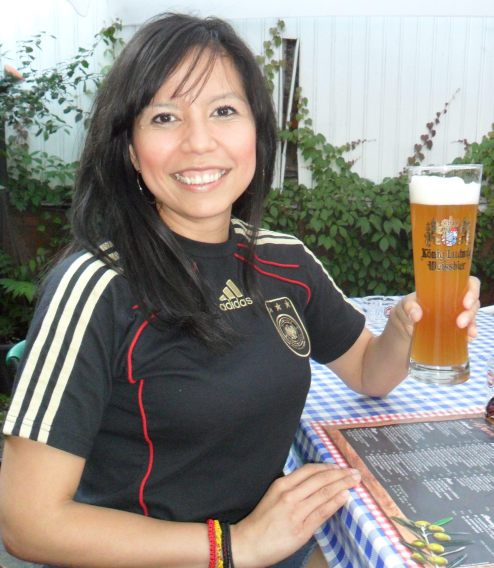LLegando a Alemania, Leipzig, y consumiendo lo local, cerveza alemana artesanal.