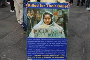Según Wikipedia, las organizaciones de derechos humanos reportan que los practicantes de Falun Gong en China sufren abusos de sus derechos humanos y se estima que cientos de miles han sido encarcelados extra-judicialmente. Foto: M. Riggi