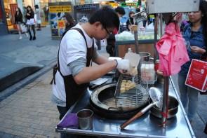 Tofu frito. Foto. M. Riggi