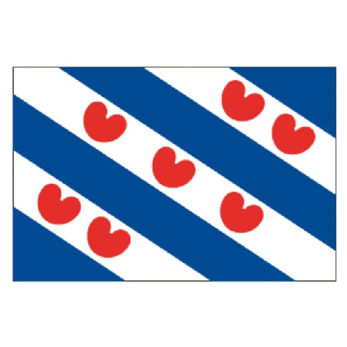 Friesevlag friesland puntvlag wimpel harlingen frielsland