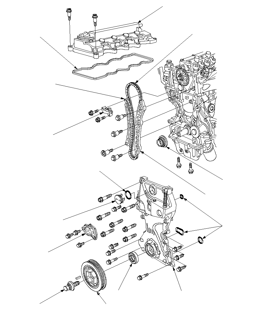 Cylinder Head Component Location Index (R18A)