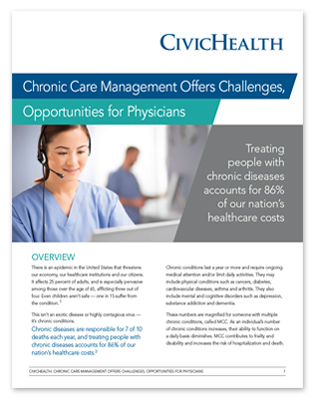 White Paper - Chronic Care Management