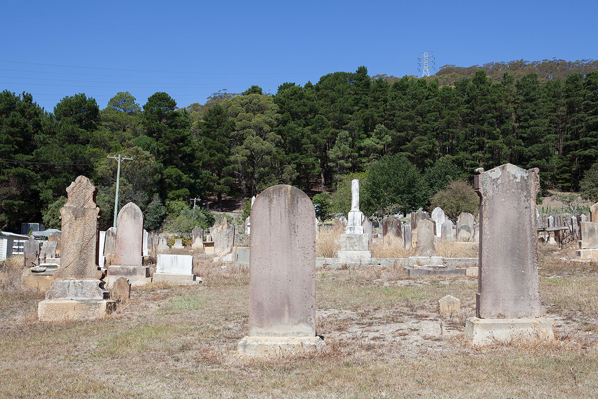 Jamie Holcombe - Civic Malaise - South Bowenfels Cemetery