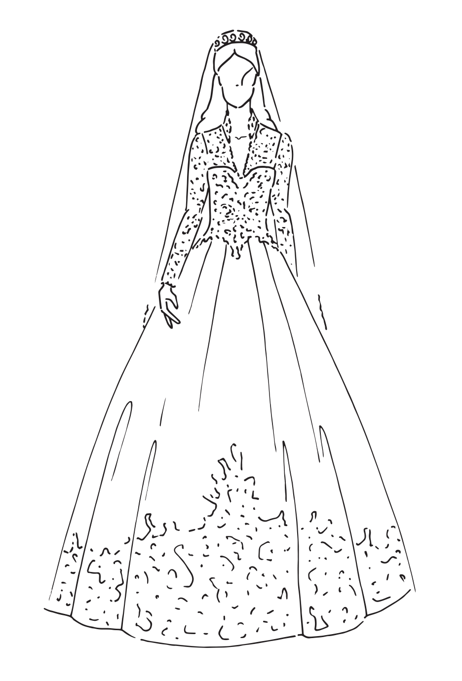 Gli abiti da sposa reali: l'iconografica di Zalando