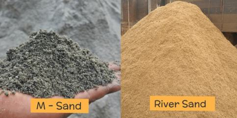 Difference Between M sand and River Sand