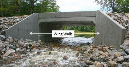 Wing Walls In Bridge