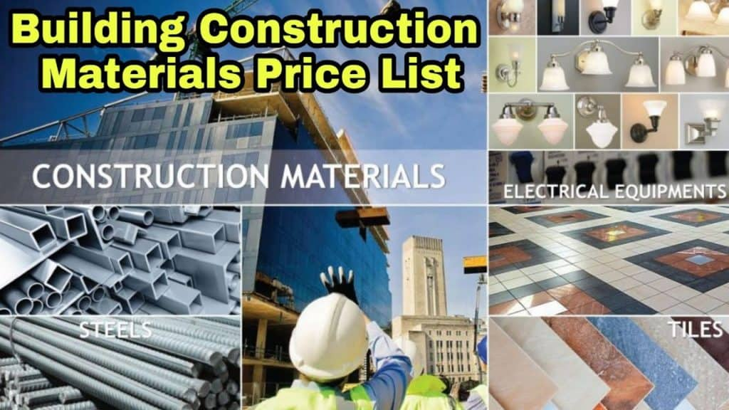 Construction and Building Materials market price