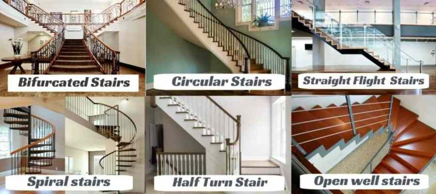 Types of Stairs in Civil Engineering