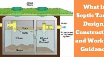 design of septic tank