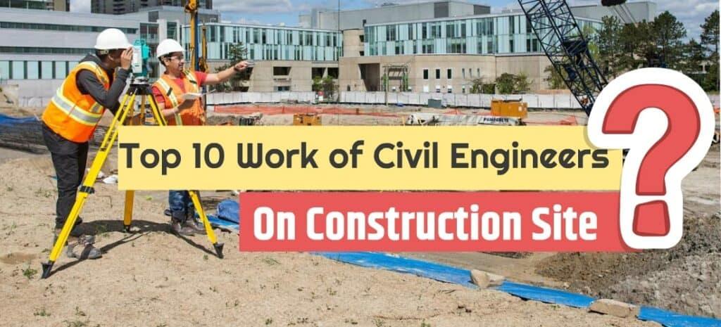 civil engineering site work